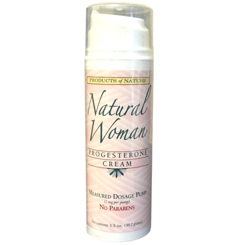 Natural Woman Progesterone Cream 3.5 oz (pump)