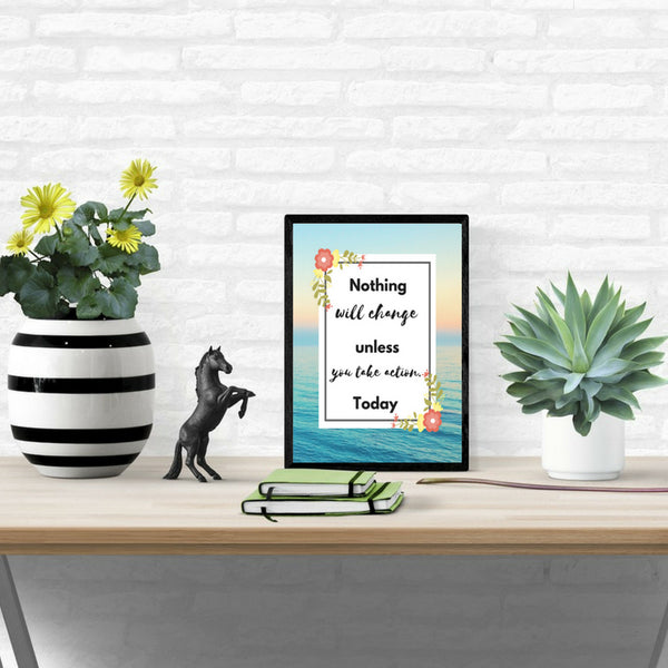 Take Action Now Motivational Printable (Digital Download) at ColorfulBows