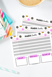 Habit Tracker Template at Mom Succeeds