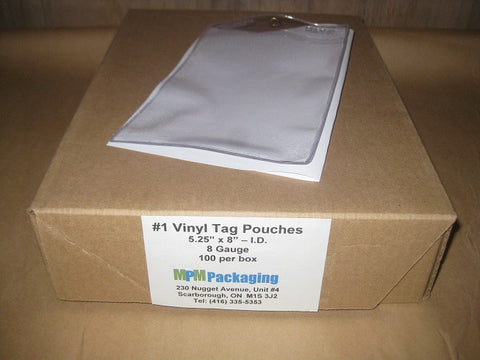 #1 Vinyl Tag Pouch
