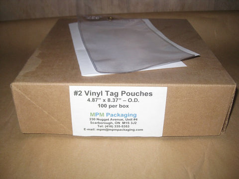 #2 Vinyl Tag Pouch
