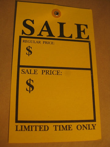 Sale - Limited Time Only - Yellow (500 per box)
