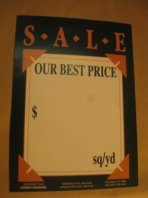 Sale - Our Best Price - Green (500 per box)