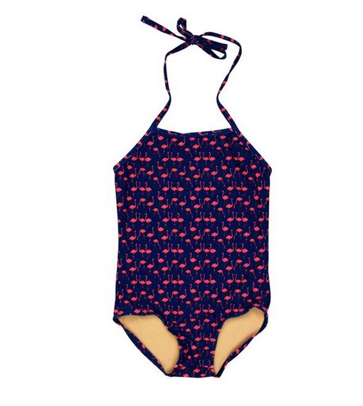 Flamingo 1 Piece Swimsuit