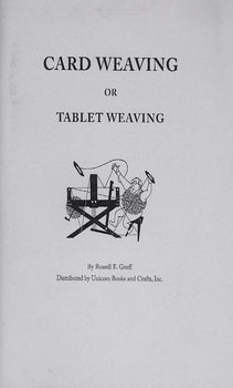 Card Weaving or Tablet Weaving