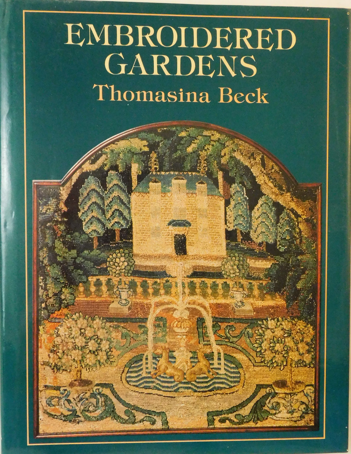 Embroidered Gardens - Used Book