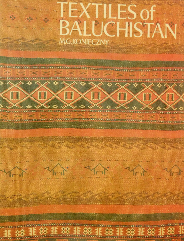 Textiles of Baluchistan- Used Book