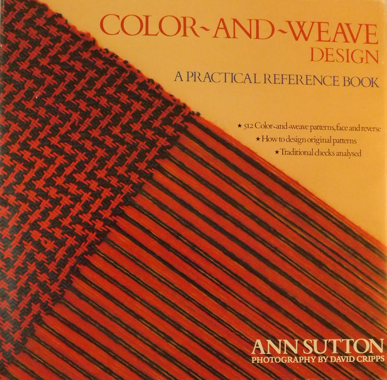 Color and Weave Design- Used Book