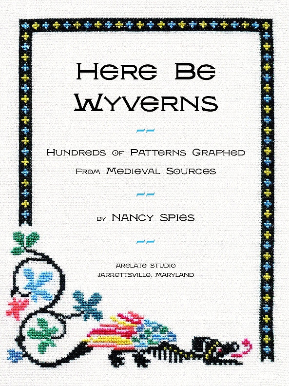 Here Be Wyverns: Hundreds of Patterns Graphed from Medieval Sources