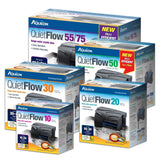 Aqueon QuietFlow 30 LED Pro Aquarium Power Filter 30-45gal
