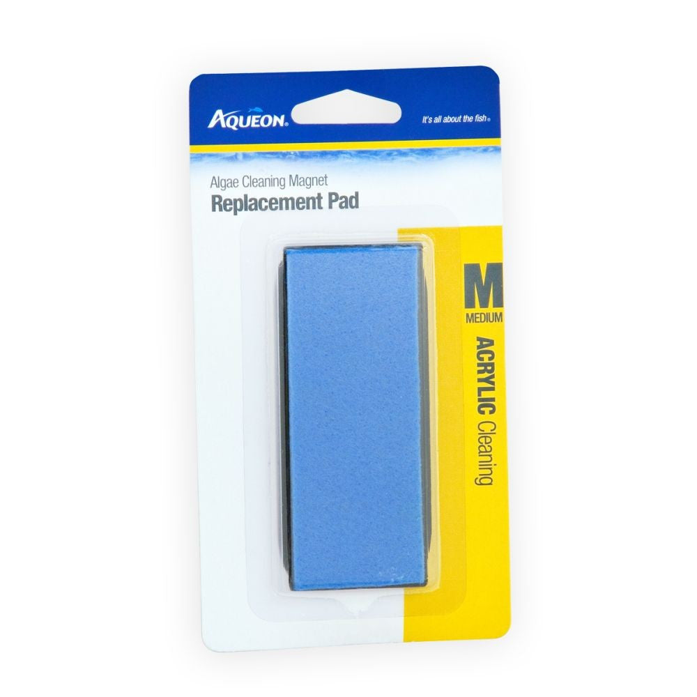 Aqueon Algae Cleaning Magnet Replacement Pad Acrylic Medium