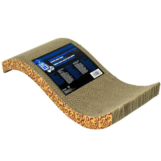 Catit Style Scratcher with Catnip, S-Chaise