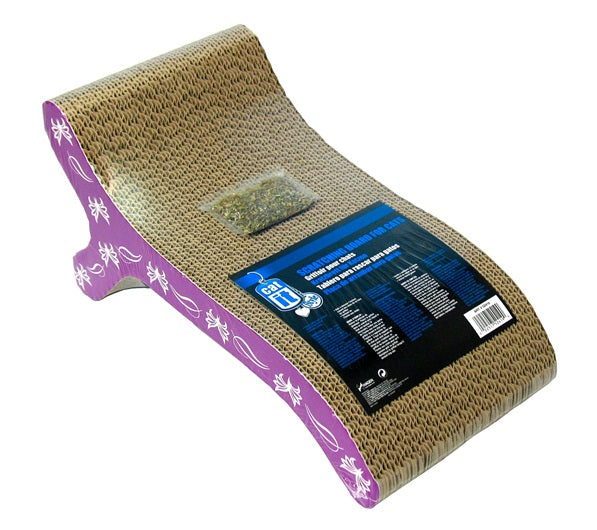 Catit Style Scratcher with Catnip, Chaise