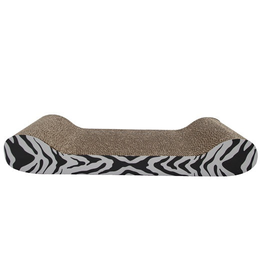 Catit Style Scratcher with Catnip, Tiger