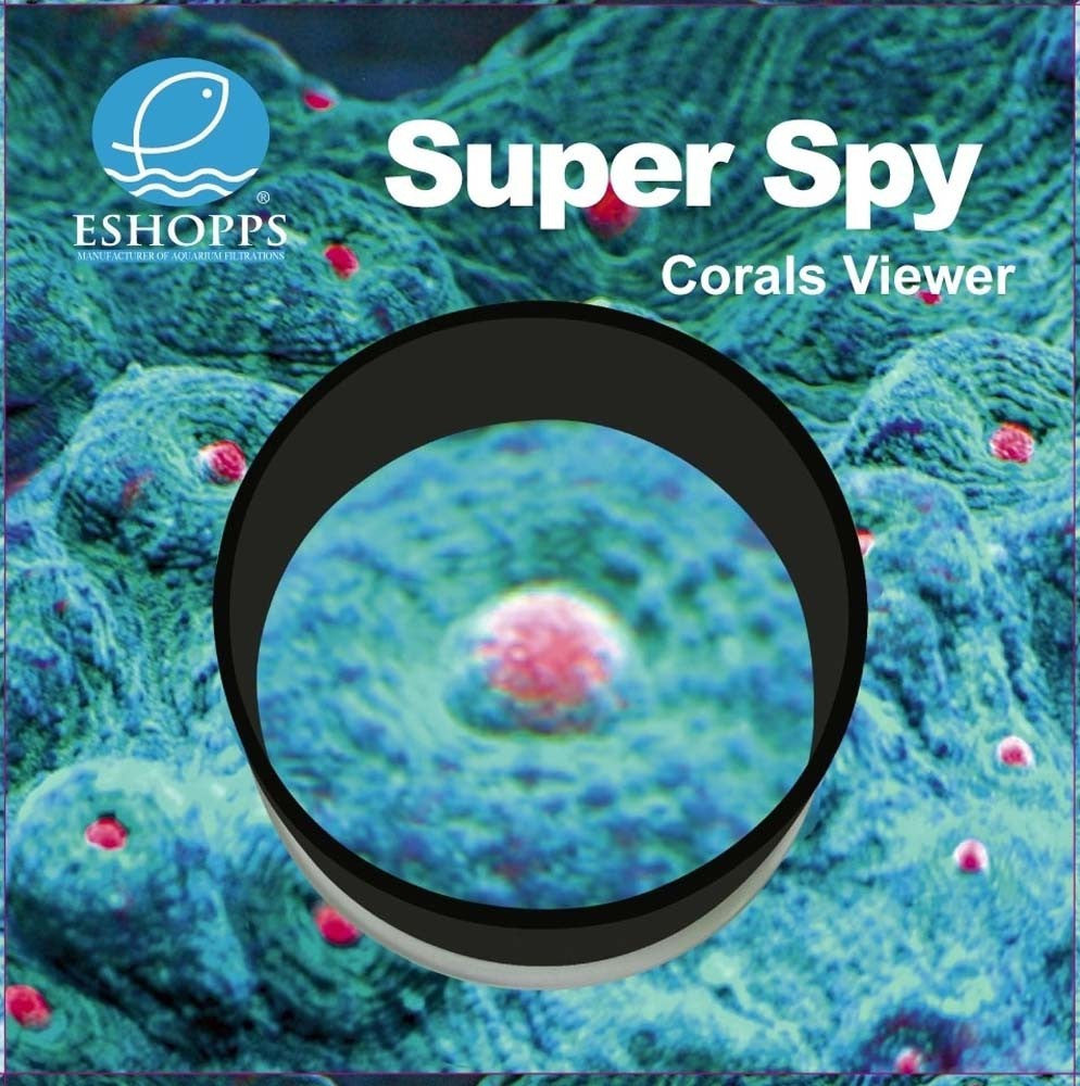Eshopps Super Spy Coral Viewer Medium 6in Diameter