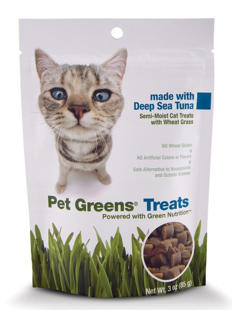 Bell Rock Growers Pet Greens Semi Moist Cat Treat Tuna 3oz