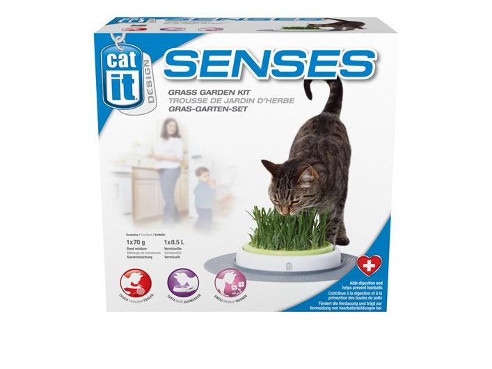 Catit Design Senses - Grass Garden (cat grass growing kit)