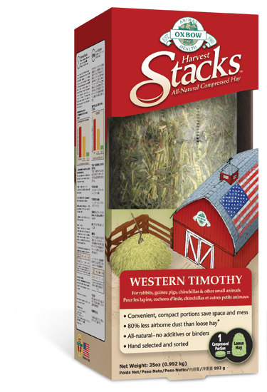 Oxbow Harvest Stacks Western Timothy
