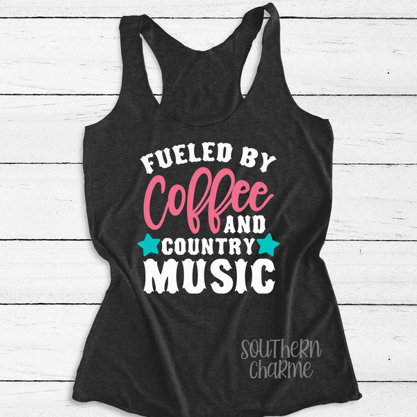 Fueled by Coffee and Country Music.