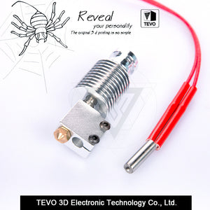 TEVO Volcano hotend for 1.75mm Direct Filament 0.4mm Nozzle