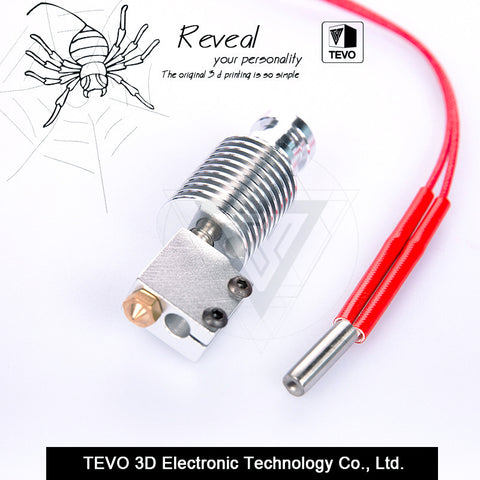 TEVO 3D Printer parts Volcano hotend for 1.75mm Direct Filament 0.4mm Nozzle