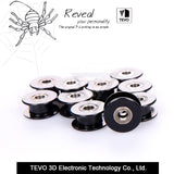 5PCS 3D Printer Accessorie 20 teeth synchronous wheel pulley 2GT Without tooth gear bore 3mm for 3d printer Idler Pulley