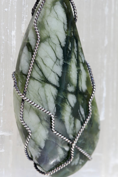 Bamboo Forest Jade Pendant