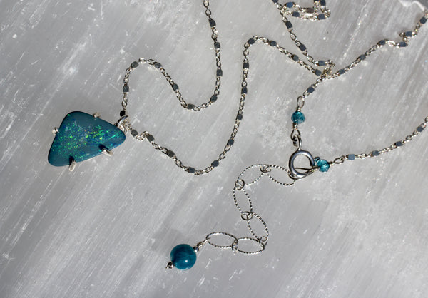 Boulder Opal Doublet Necklace