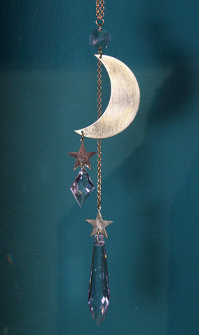 Brass Celestial Crystal Ornament