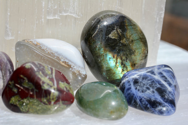 Handful of Tumbled Stones