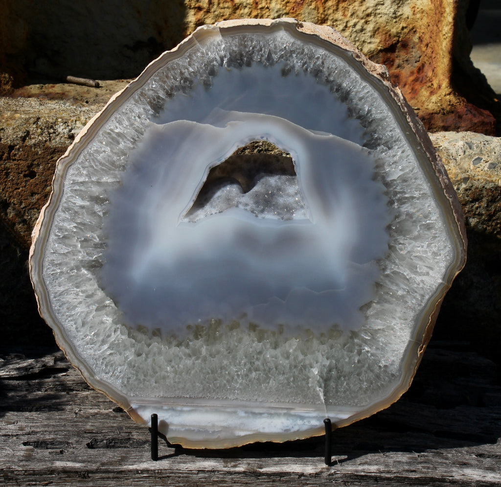 Thick Natural Agate Slice