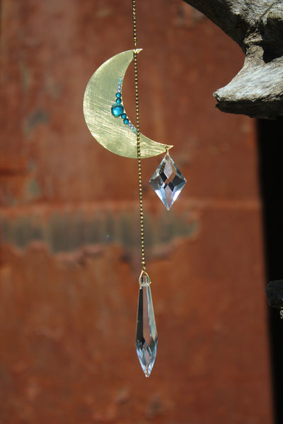 Celestial Crystal Prism Mobile with Swarovski