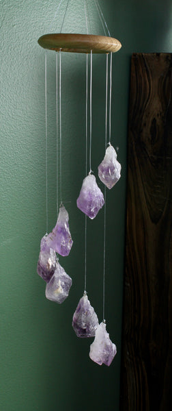 Amethyst Crystal Mobile