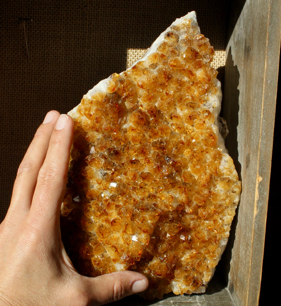 Large Citrine Specimen