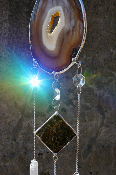 Agate Selenite Mobile