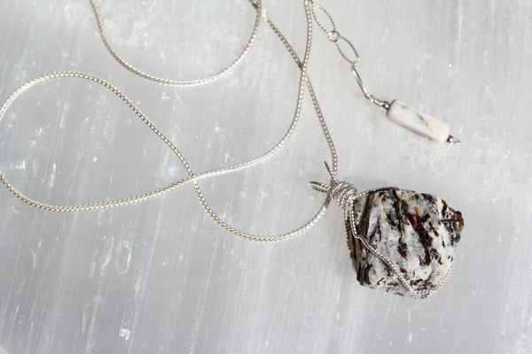 Astrophyllite Rock Star Necklace 2