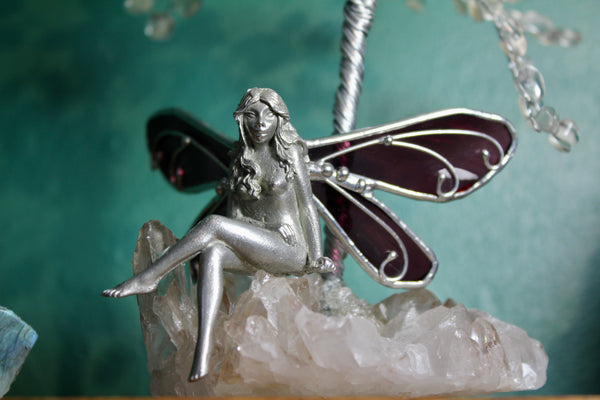 Rainbow Obsidian Fairy