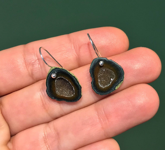 Tobasco Geode Earrings