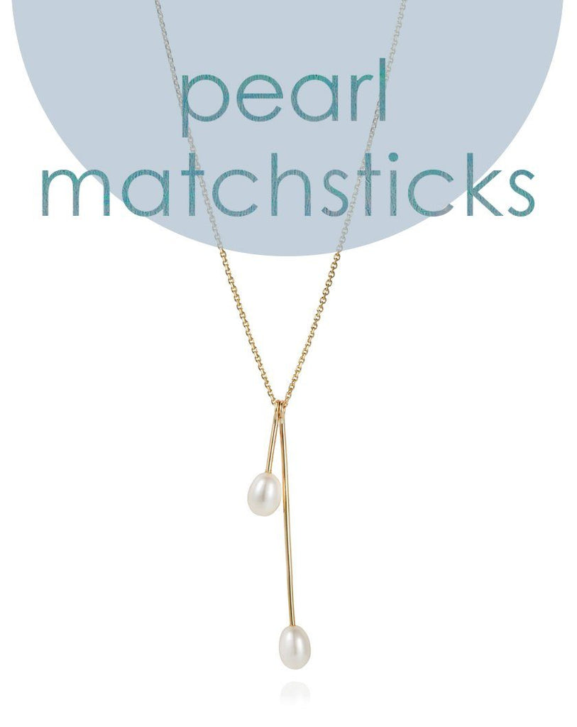 Pretty in pearls: our new matchstick collection has arrived!