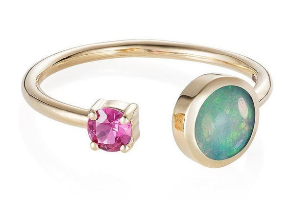 opal October laura lee jewellery ring