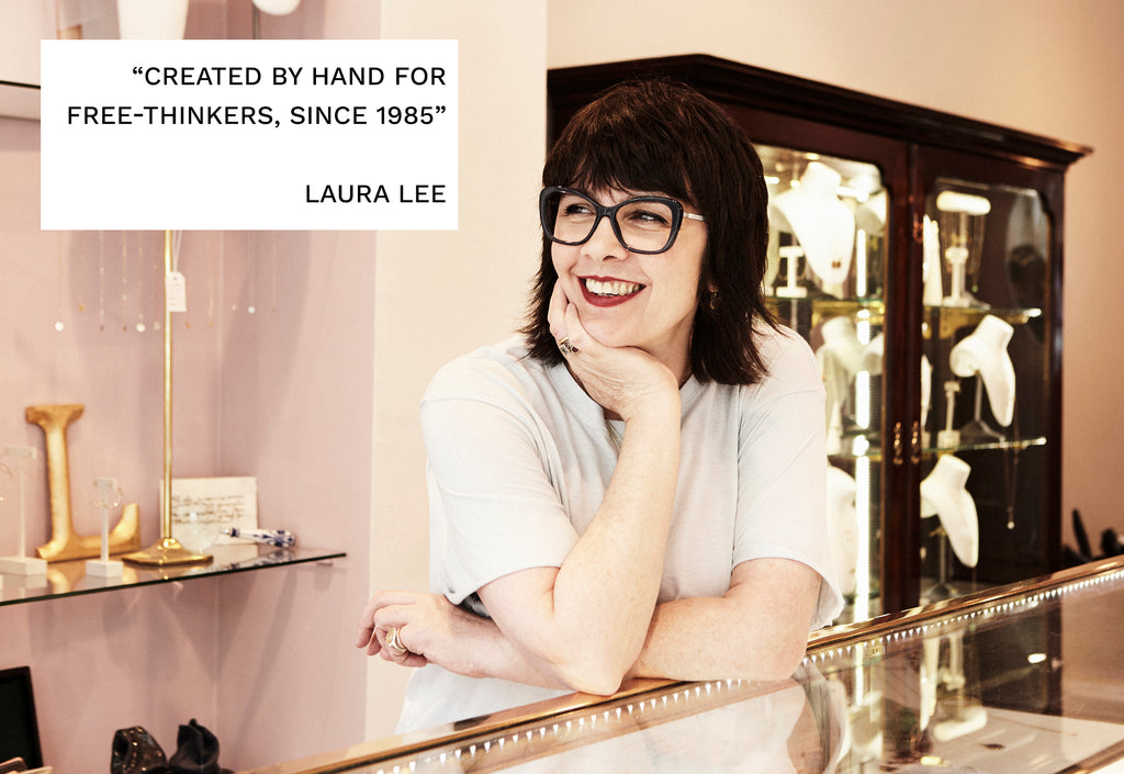 laura lee jewellery about us contact biography