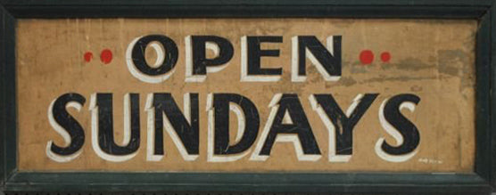 open-sundays