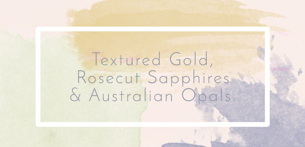 Water Colour Background Desert Aurora by Laura Lee Jewellery: Launch Text