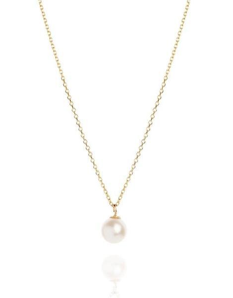 Pearl Drop Necklace - Laura Lee Jewellery - 2