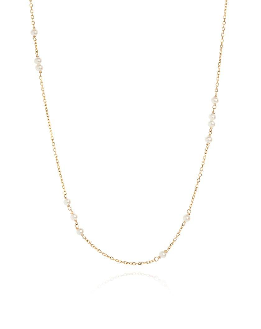 Pearl Sleeper Necklace