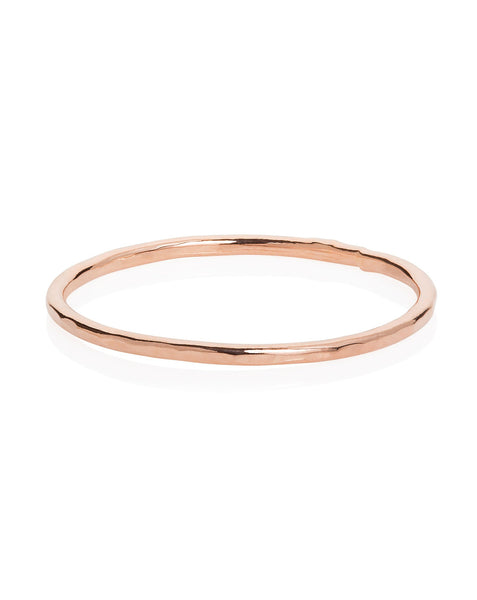 Single Hammered Band Ring - Laura Lee Jewellery - 1