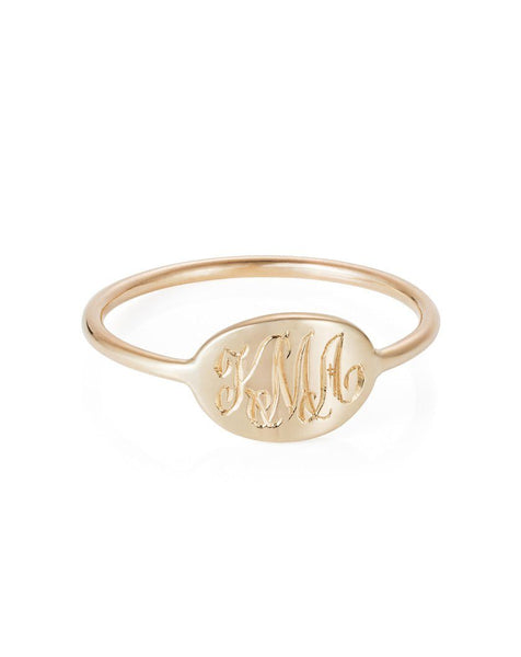 Small Heirloom Signet Ring