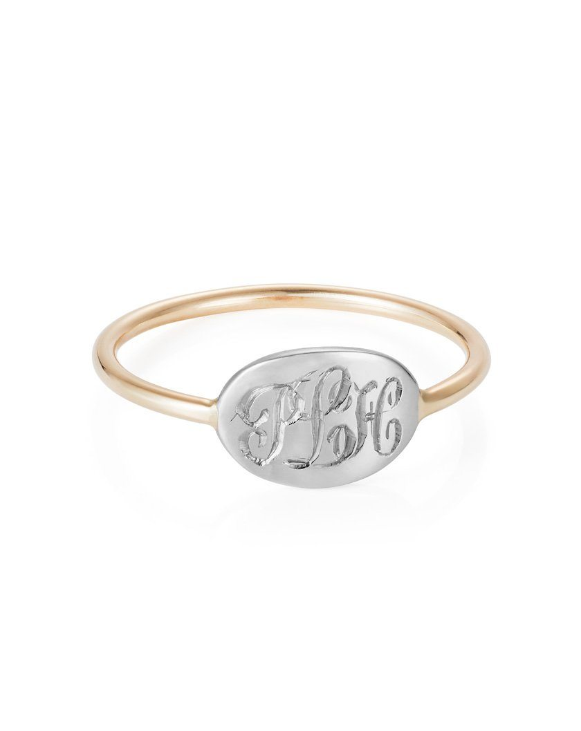 Small Heirloom Signet Ring - SS