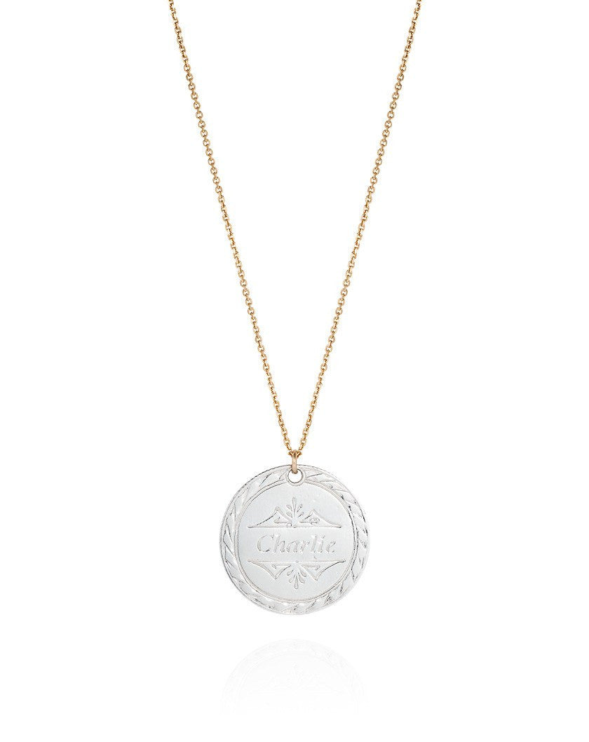 Personalised Love Token Necklace