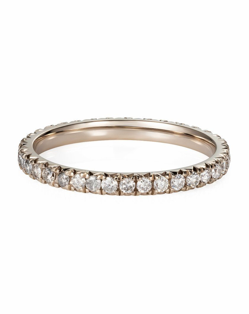 Milky Way Eternity Band in 18ct White Gold